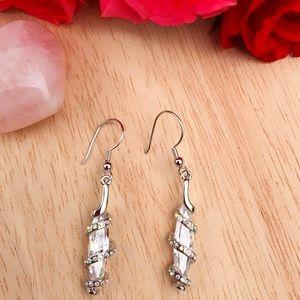 Let's Party Silver Earrings